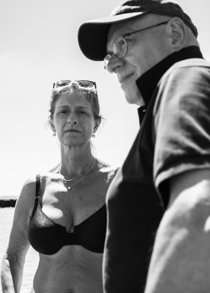 Parents portrait in Coney Island